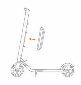 diagram for adding an extra battery to an electric scooter