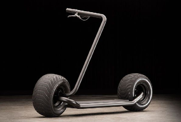 elegant picture of a Stator electric scooter concept