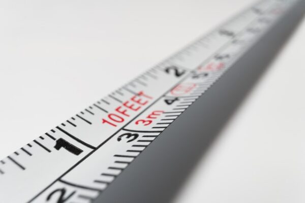 long distance on a measuring tape