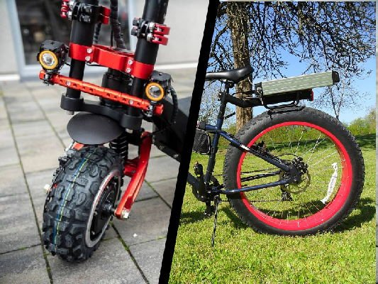 electric scooter vs electric bicycle