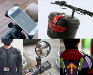 26 Electric Scooter Accessories to Make Your Scooter Cooler and More Useful (Ultimate List)
