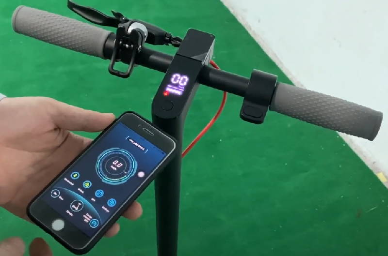 the app for the Aovo Pro