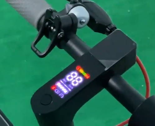 the LCD screen of the Aovo Pro