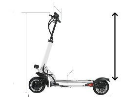 Average Electric Scooter Handlebar Height (Calculated From 110 Models)