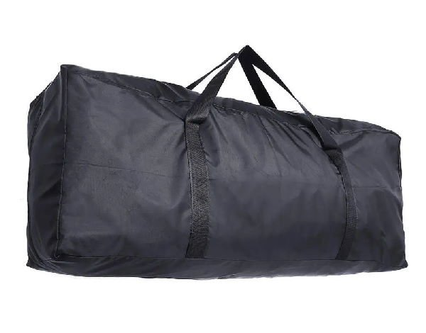 black big bag for an electric scooter
