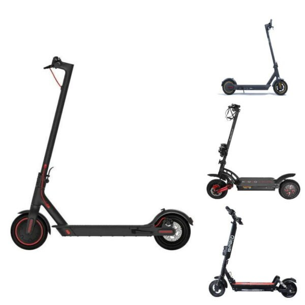 4 popular electric scooters for beginners, with the Xiaomi M365 Pro  in the focus