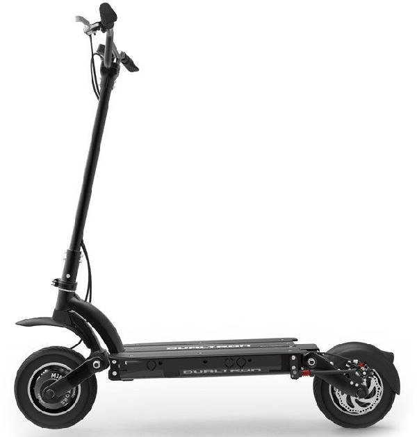 side view of a black Dualtron 2