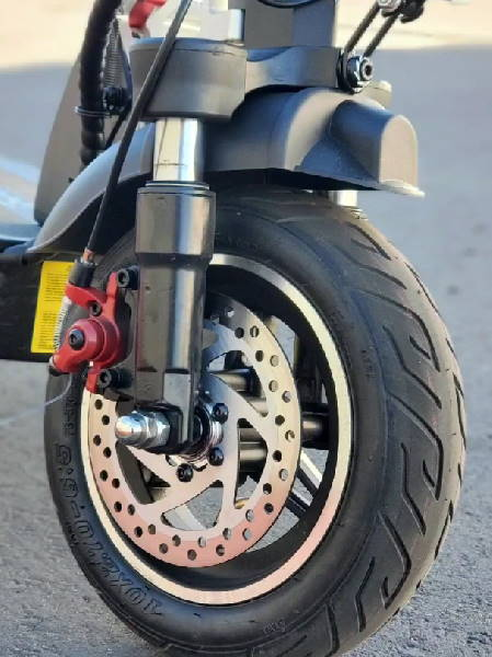 front suspension of the EverCross HB24