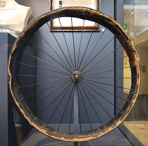 the first pneumatic tire, produced by Dunlop Rubber