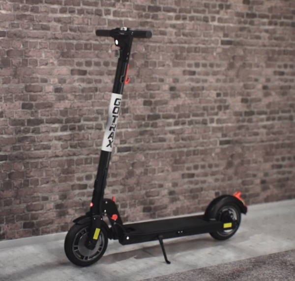 GoTrax XR Elite standing in a room