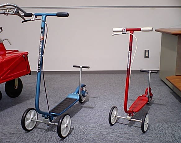 two Kick N Go scooters