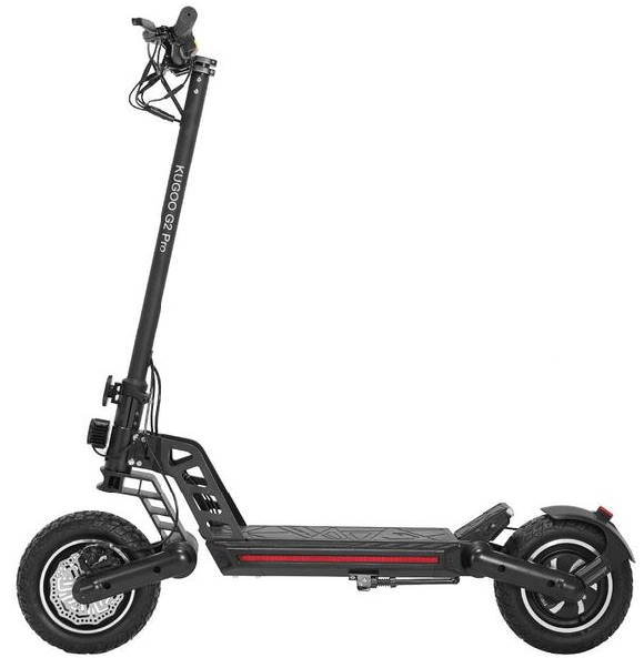 side view of the Kugoo G2 Pro