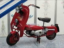 red Papoose scooter