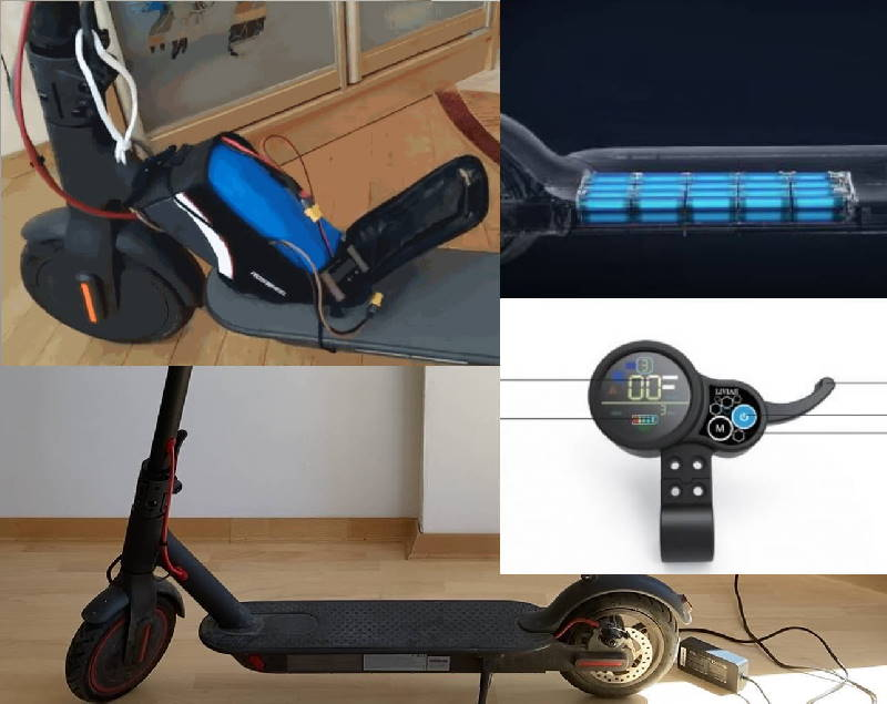 varios electric scooter parts
