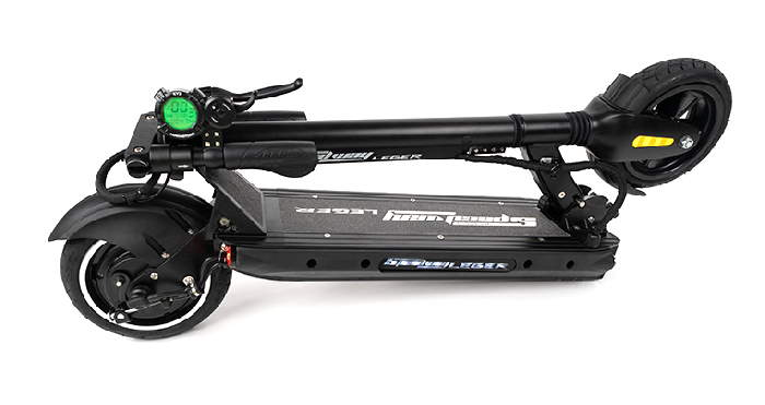 folded Speedway Leger electric scooter