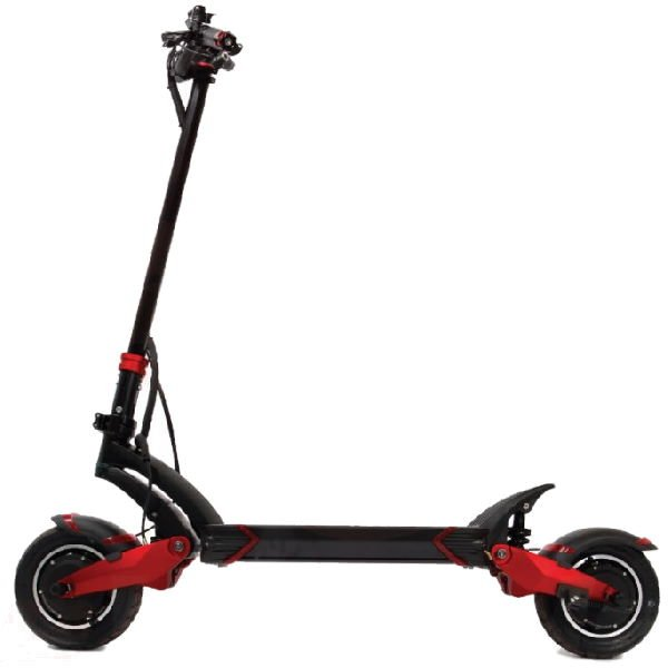 side view of Turbowheel Lightning electric scooter on a white background