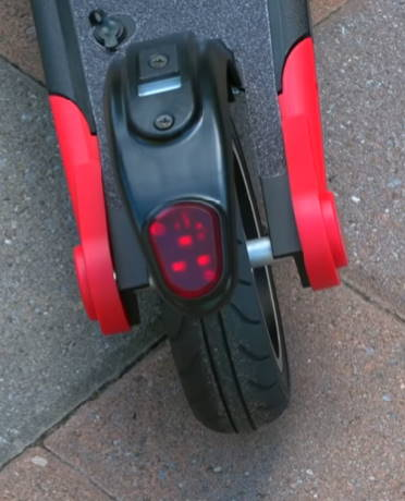 rear wheel of the Voyager Ion