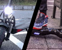 Electric Scooter vs Hoverboard – Comparing All Use Cases + Which Is Right For You